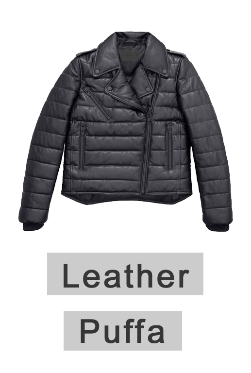 Alexander Wang Leather Puffa