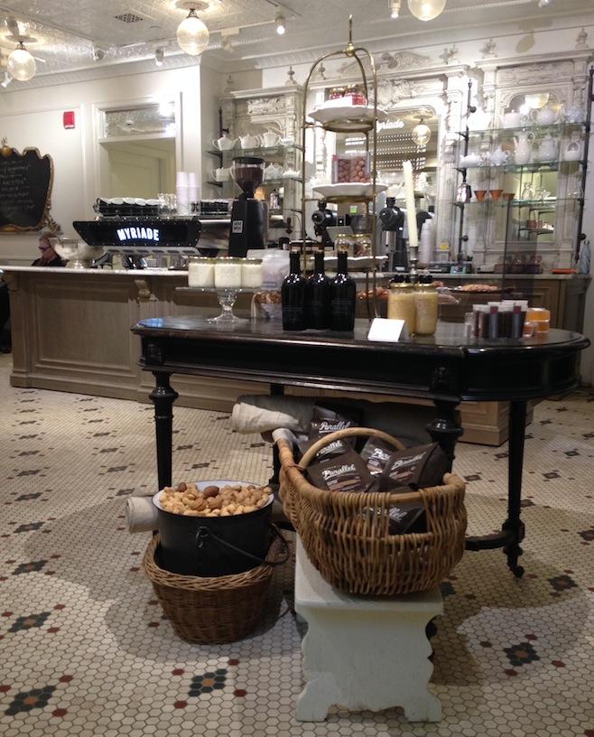 Cafe Myriade Montreal Decor
