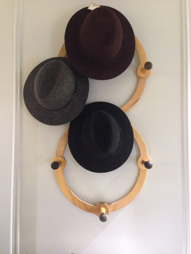 Club Monaco Wool Hat Menswear Display