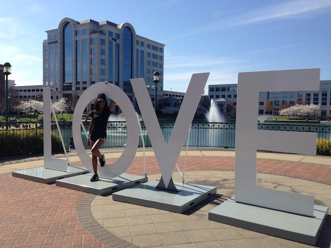 5.Ruki Garuba Love Sign Newport News