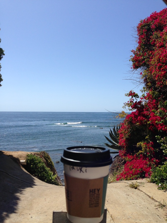 7.Beach and Coffee