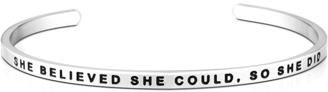 She_Believed_She_Could_So_She_Did_Bracelet_-_MantraBand_1024x1024